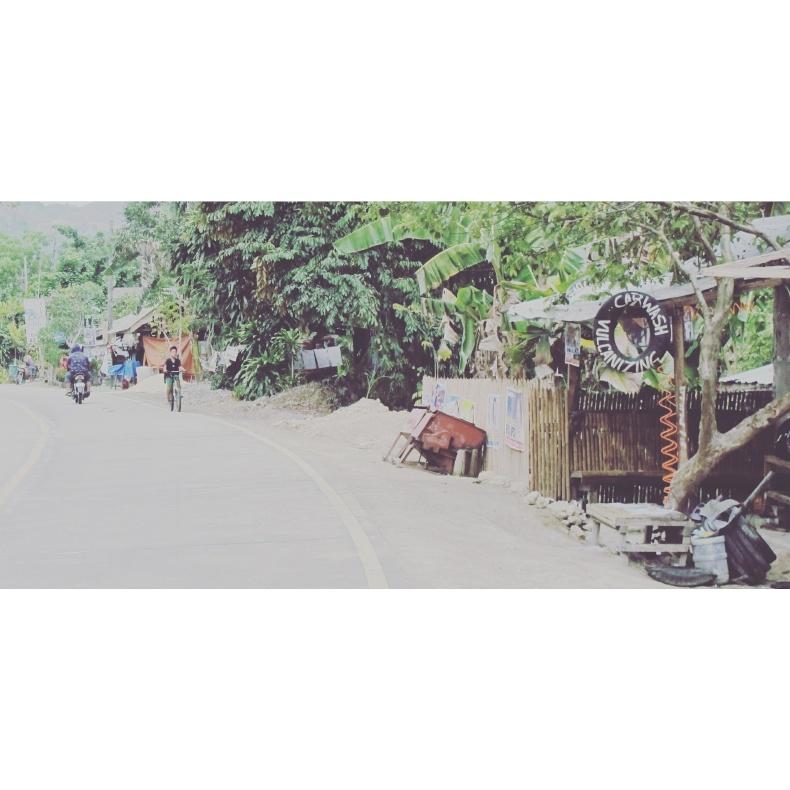 motorbike roadtrip Bohol Phillippines carwash